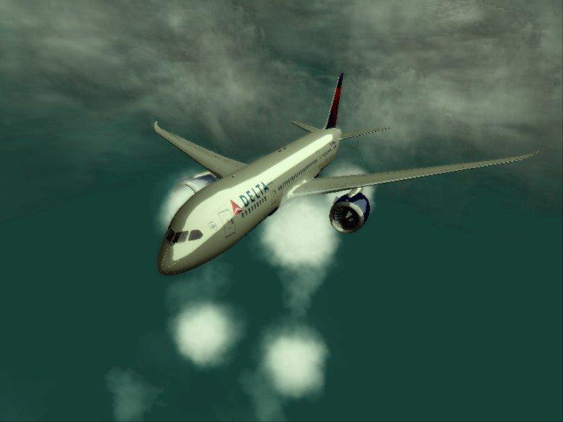 GTA San Andreas Delta Air Lines Boeing 787-8 Mod - GTAinside com