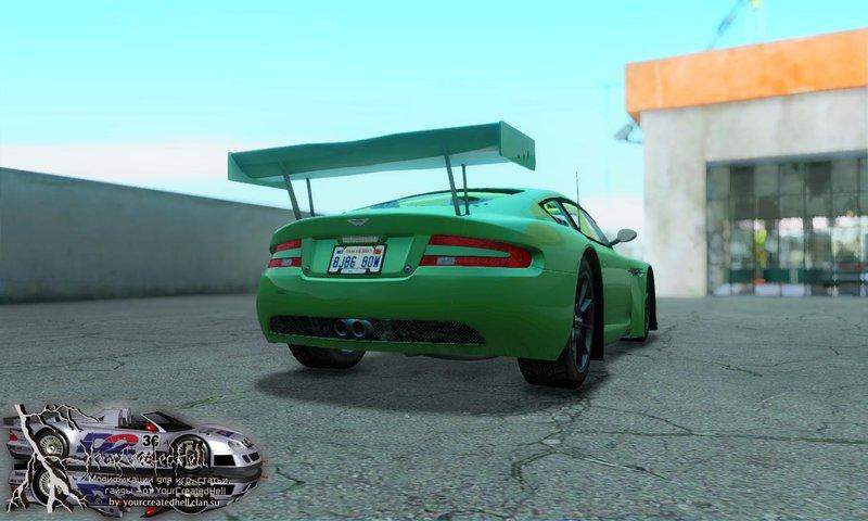 Gta San Andreas 2006 Aston Martin Racing Dbrs9 Gt3 V106 Mod