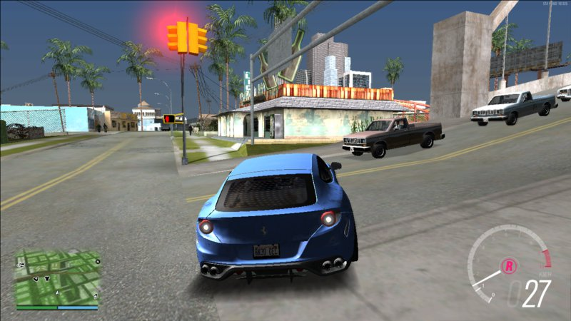 GTA San Andreas Forza Horizon 3 Speedometer Mod - GTAinside com
