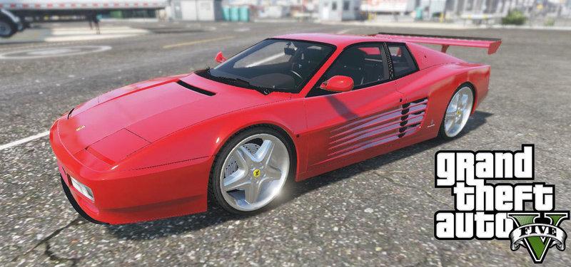 Gta 5 Ferrari Testarossa 512 1991 Add On Mod Gtainside Com