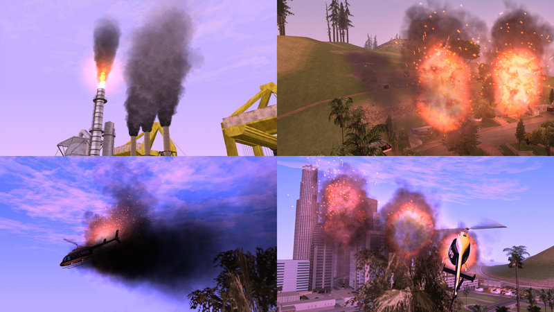 GTA San Andreas Project Overhaul - Particles and Effects Mod