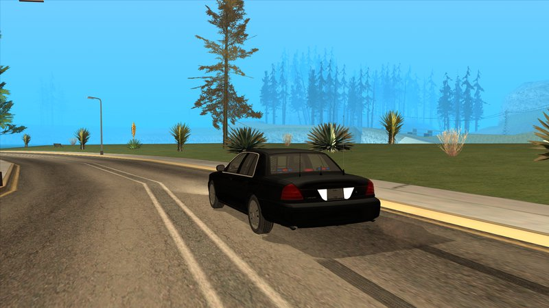 Ford Crown Victoria Unmarked Undercover Detective