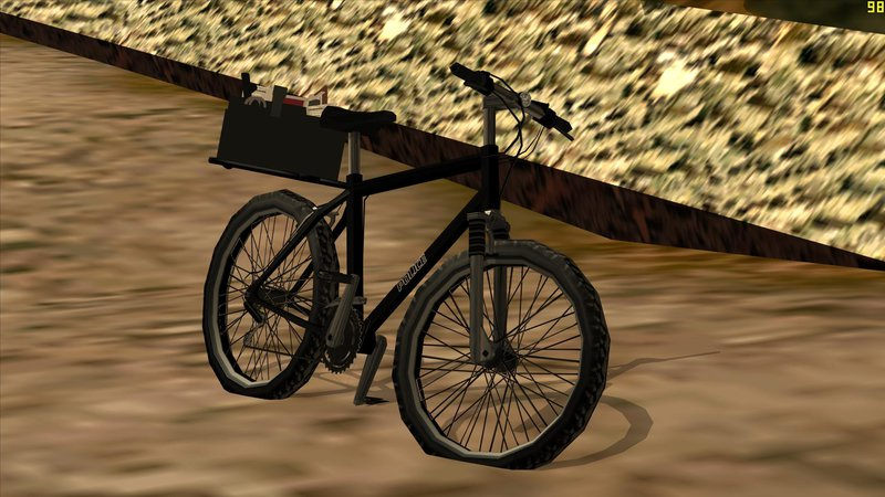 Gta San Andreas Police Mountain Bike Mod