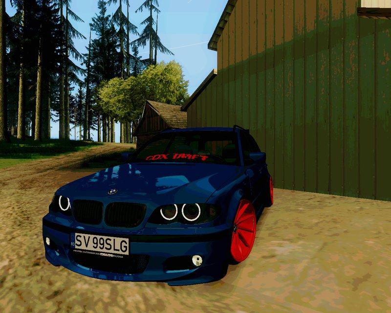 GTA San Andreas BMW e46 Touring Facelift (Edit) Mod - GTAinside com