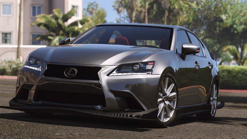 Gta 5 Lexus Gs 350 Add On Replace Tuning Template