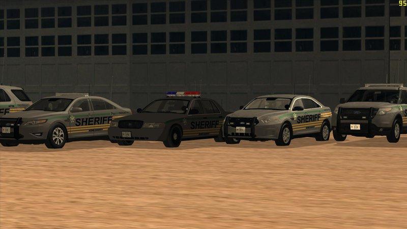 GTA San Andreas Bone County Sheriff's Office Pack Mod - GTAinside com