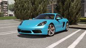 Porsche 718 Cayman S [Add-On / Replace]