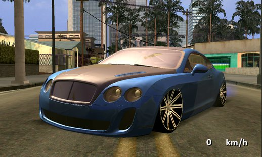 Bentley Continental VIP Stance Style only dff for Android