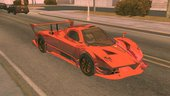 Pagani Zonda R Dff Only No Txd For Android
