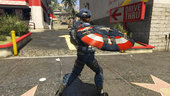 Captain America Modern Soldier + Shield [Add-on Ped]