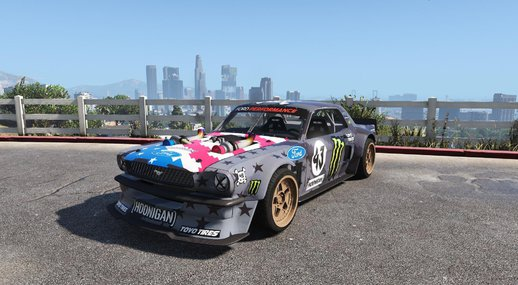 Ford Mustang 1965 RTR Hoonicorn V2 [Add-On / Replace]