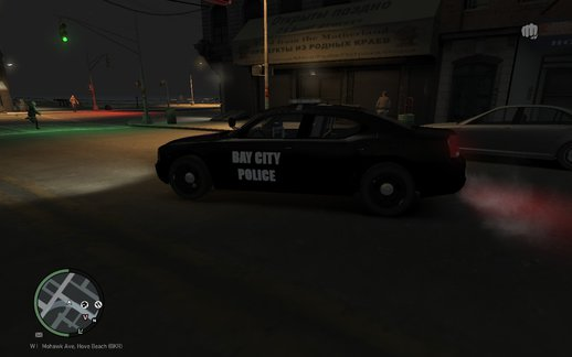 2010 Dodge Charger Bay City Police Texture