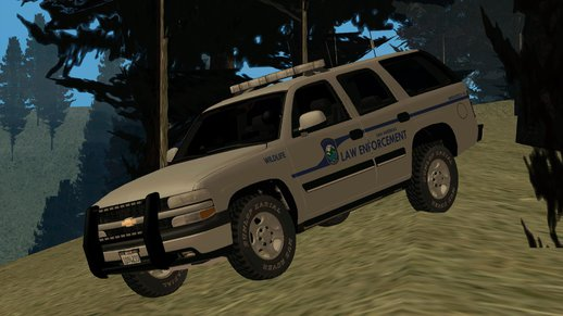 2004 Chevy Tahoe State Wildlife