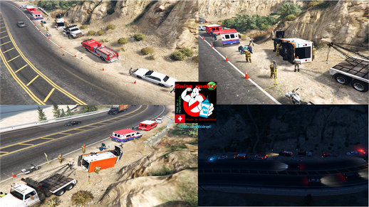 Ambulance Accident V1.0 [Menyoo Map]