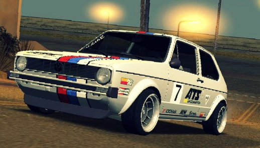 VW Golf MK1 GTI [+ PAINT JOBS]