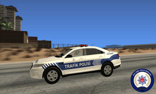 Ford Taurus-Turkish Traffic Police car