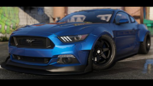 2015 Ford Mustang [HQ | WBody Kit | ShelbyKit | Animated]