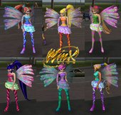 Sirenix Transformation from Winx Club Mystery of the Abyss