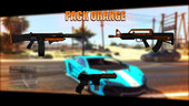 Orange Weapons Pack #1