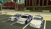 Ford Crown Victoria Greek Police Pack