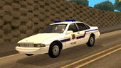 1996 Chevy Caprice Hometown Police