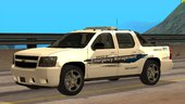 2008 Chevy Avalanche Red County Office of Emergency Management
