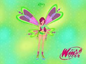 Roxy Fairy Transformation from Winx Club Rockstars