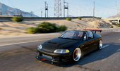 Honda Civic Delsol (Civic EG VTI 94' Frontswap) [Add-On | Tuning]