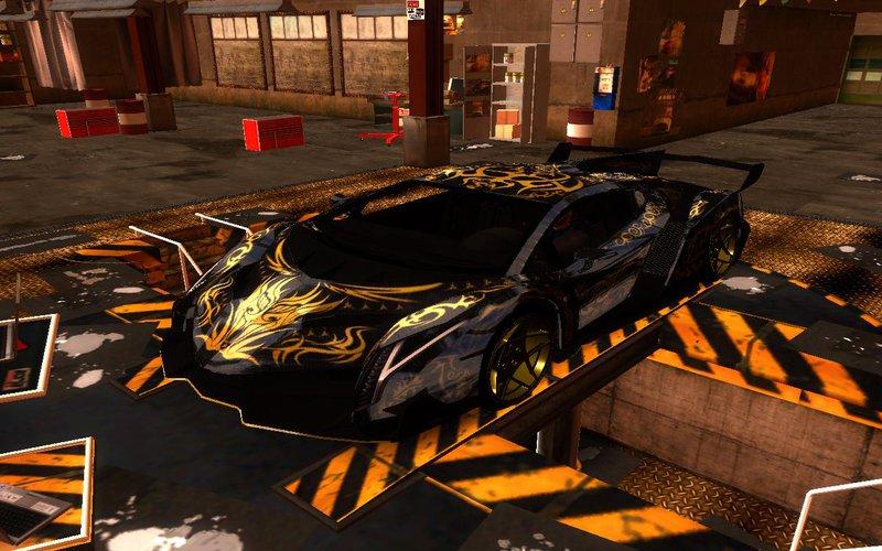 GTA San Andreas Lamborghini Veneno 2013 Gold Edition Mod