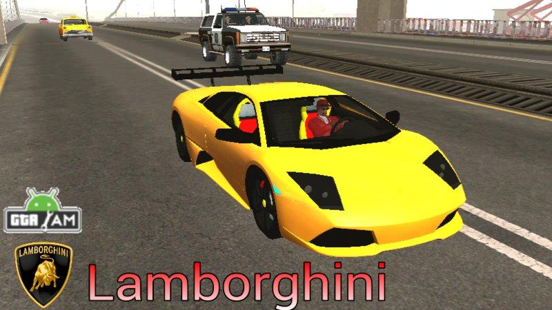GTA San Andreas Lamborghini Murcielago LP640 Dff Only For Android