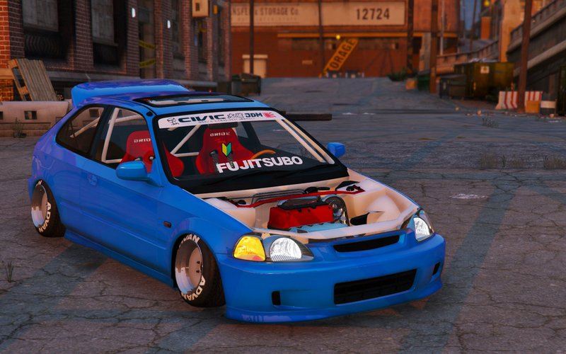 gta 5 honda civic ek9 stance edition tuning template. Black Bedroom Furniture Sets. Home Design Ideas