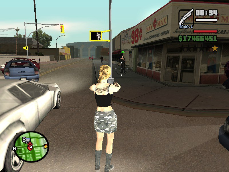Amazing Female Player 2.0 for GTA San Andreas