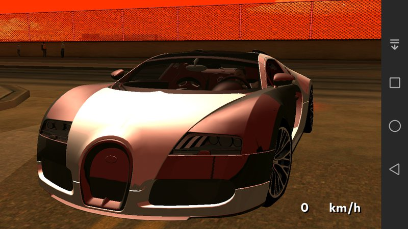 gta san andreas bugatti veyron super sport no txd for android mod gtainside. Black Bedroom Furniture Sets. Home Design Ideas