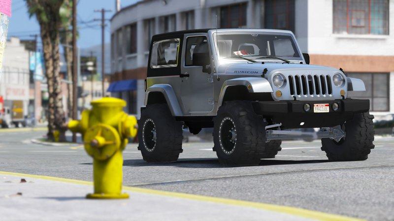 gta 5 jeep wrangler unlimited 3 door jk 2013 add on. Black Bedroom Furniture Sets. Home Design Ideas