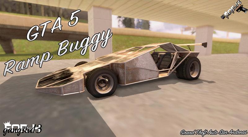 GTA San Andreas GTA 5 Ramp Buggy Mod - GTAinside com