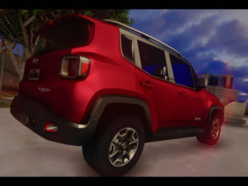 New Jeep Renegade >> GTA San Andreas Jeep Renegade 2017 Mod - GTAinside.com