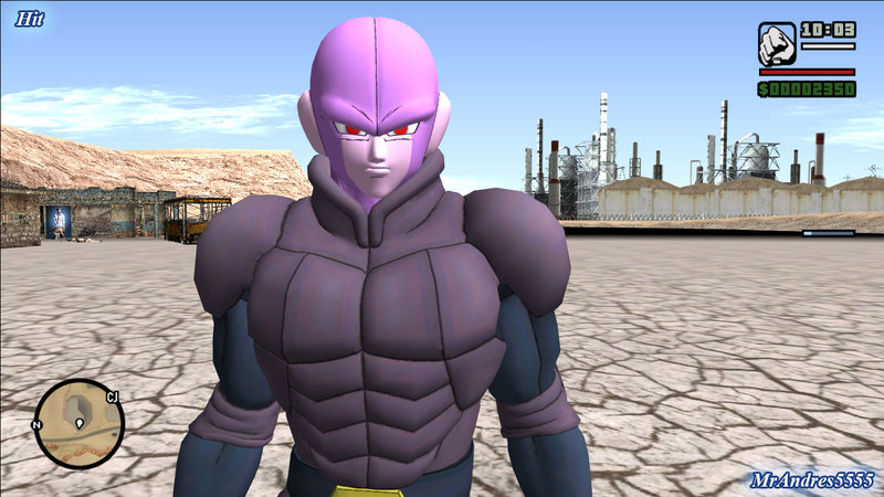 Gta San Andreas Hit From Dragon Ball Xenoverse 2 Mod