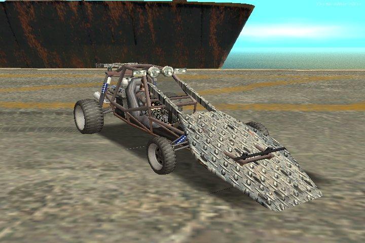 GTA San Andreas Bandito Ramp Car Mod - GTAinside com