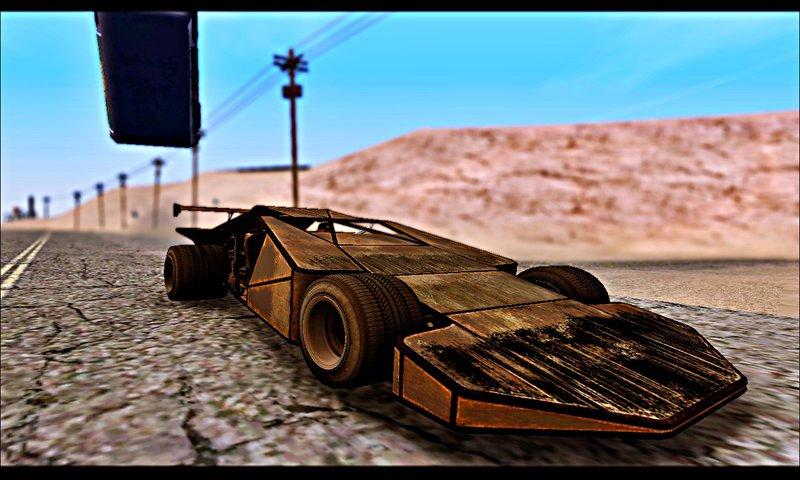 GTA San Andreas GTA V Bf Buggy Ramp (DLC Import/Export) Mod