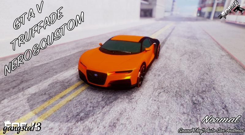 GTA San Andreas GTA V Truffade Nero & Custom Mod - GTAinside com