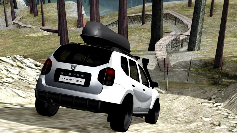 gta san andreas dacia duster offroad mod. Black Bedroom Furniture Sets. Home Design Ideas