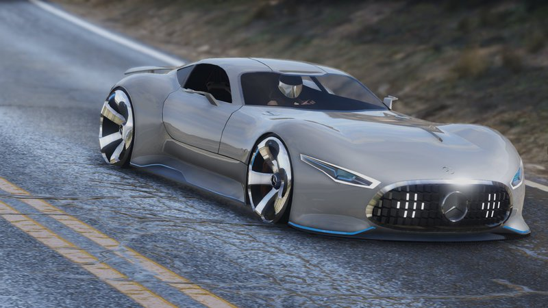 Gta 5 mercedes benz amg vision gt add on mod for Mercedes benz amg vision gt