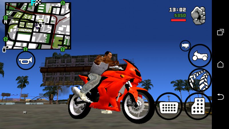 GTA San Andreas Ninja 250 dff only no txd Mod - GTAinside com