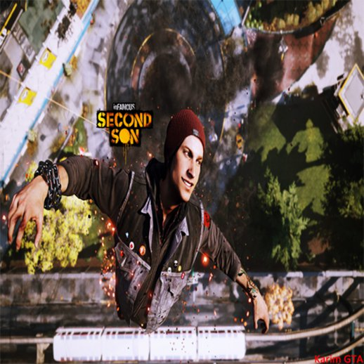 inFAMOUS Second Son Menu and Loadscreen