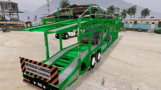 Car Carrier Trailer (Reboque Cegonheira)