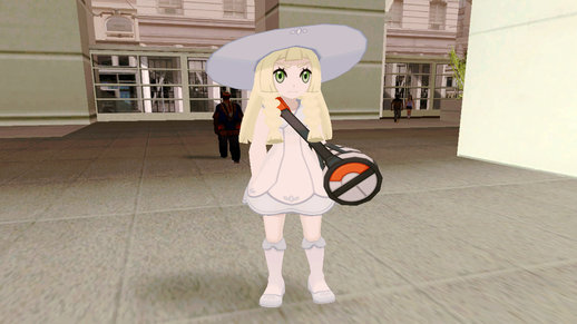 Pokémon Sun/Moon - Lillie