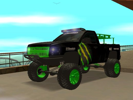 Chevrolet Silverado Monster Energy V2