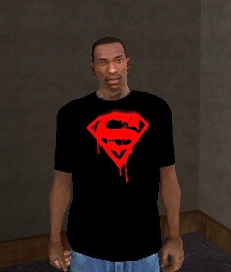 Bloody Superman Logo T-Shirt