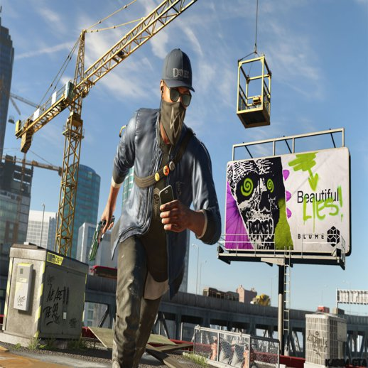 Watch Dogs 2 Menu and Loadscreen