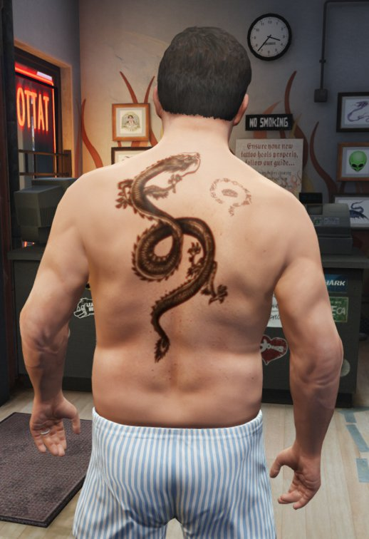 Tattoo Wei Shen (Sleeping Dogs)